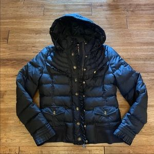Juicy Couture Down Ruffle Puffer Jacket